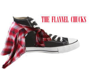 The Flannel Chucks Logo