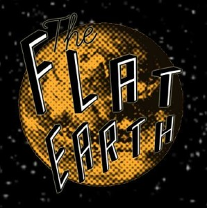 The Flat Earth Wide Space Logo