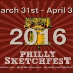 Philly Sketchfest Logo Dates